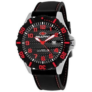 Link to Seapro Men's Trooper Black Dial Watch - SP1514 - One Size Similar Items in Men's Watches
