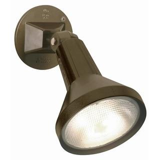 "Nuvo Lighting 77/494 Single Light 8"" PAR38 Exterior Flood Light with Adjustable Swivel"