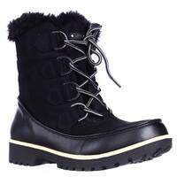 JBU by Jambu Mendocino Mid Calf Faux Fur Winter Snow Boots, Black