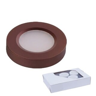 Miseno MLIT-35386 CounterMax LED Light Under Cabinet Puck Light