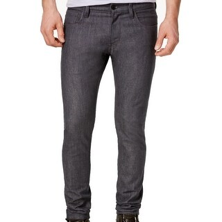 G-Star NEW Gray Mens 32X30 5-Pocket Deconstructed Super Slim Jeans