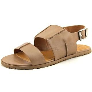 Kelsi Dagger Panther Women Open Toe Leather Tan Sandals