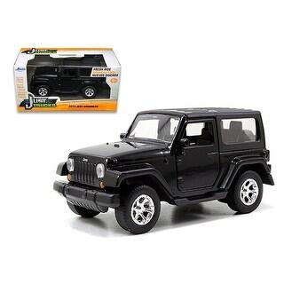 2014 Jeep Wrangler Black 1/32 Diecast Model Car by Jada
