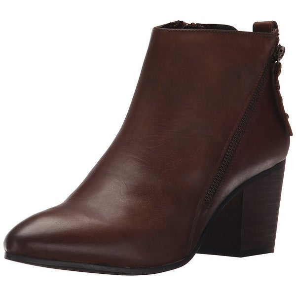 Steve Madden Womens Jaydun Leather Closed Toe Ankle Fashion Boots