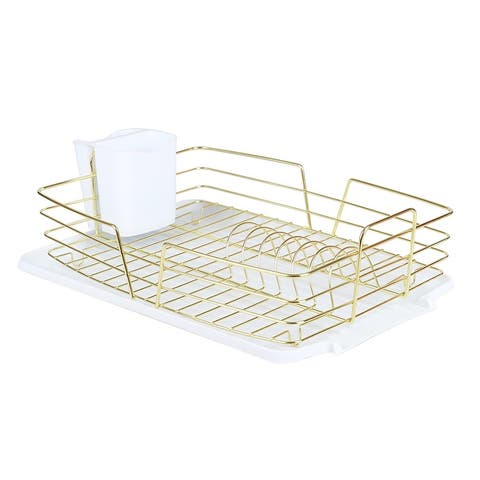 Michael Graves Design Deluxe Dish Rack