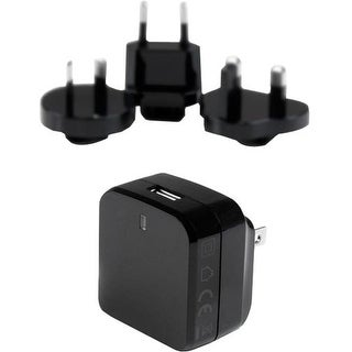 StarTech USB1PACVBK StarTech.com USB Wall Charger with Quick Charge 2.0 - Black - Travel Charger (International) - 120 V AC, 230