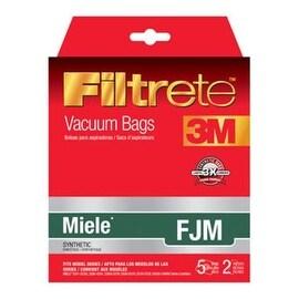 Filtrete 68704-2 Miele Vacuum Bag, Style FJM