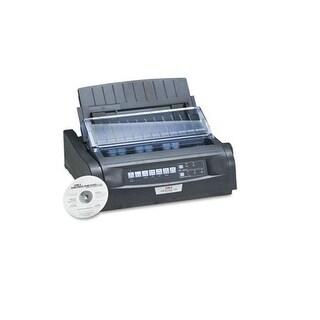 Okidata 91909701 Microline 420 Dot Matrix Printer Parallel 120V Black 240X216