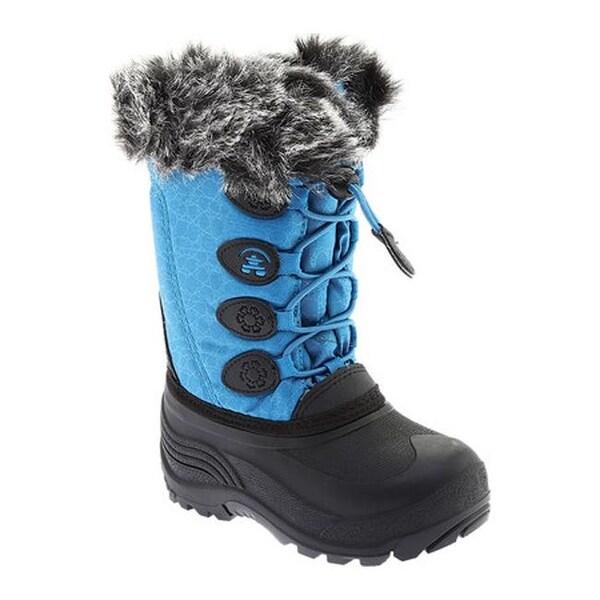 9107bd824 Shop Kamik Children's Snowgypsy Teal Waterproof Nylon - Free ...