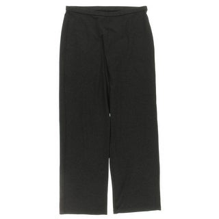 Eileen Fisher Womens Petites Lounge Pants Heathered Elastic Waist - ps