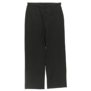 Eileen Fisher Womens Petites Lounge Pants Heathered Elastic Waist - ps