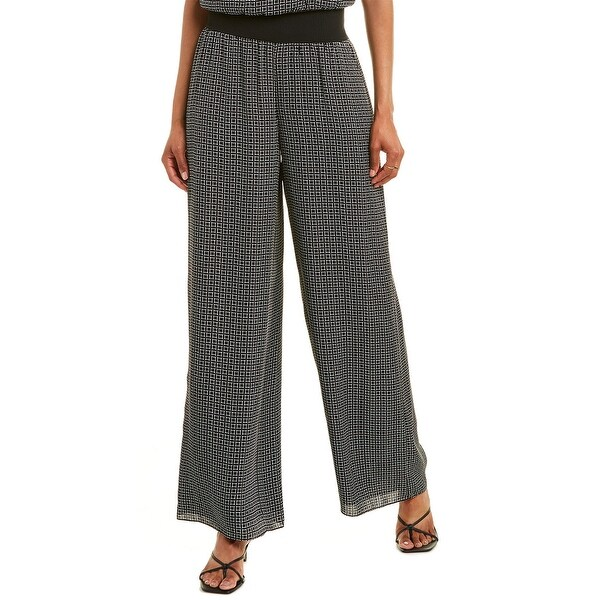 Theory Wide Silk Pant. Opens flyout.