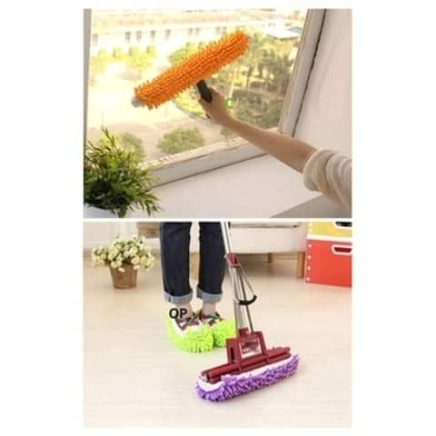 Brand New Hot Mop Slippers Floor Polishing Cover Lazy Dusting House Cleaner Foot
