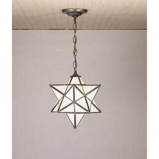"Meyda Tiffany 21841 Single Light 12"" Wide Pendant with Handmade Shade"