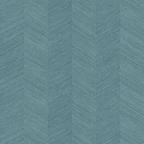 Seabrook Designs Chevy Hemp Embossed Vinyl Unpasted Wallpaper