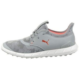 Puma Women's Ignite Spikeless Sport Floral Golf Shoes Grey/White 190171-02