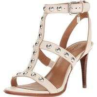 Coach Womens Isabell II Leather Open Toe Casual Strappy Sandals