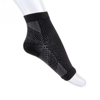 Anti-Fatigue Compression Sock for Improved Circulation, Swelling Relief, Plantar Fasciitis Relief and Tired Feet