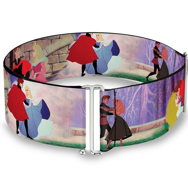Sleeping Beauty & Prince Scenes Cinch Waist Belt ONE SIZE