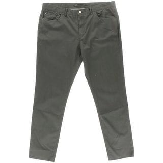 Michael Kors Mens Slim Fit Twill Casual Pants