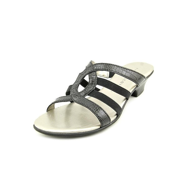 Karen Scott Emet Womens Black Sandals