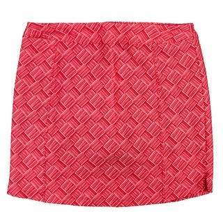 adidas Women's Adistar Printed Skort - ray red - S