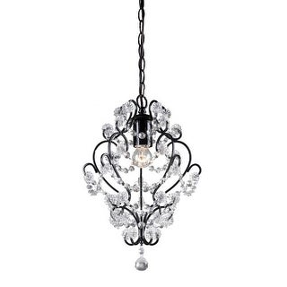 Sterling Industries 122-005 1 Light Foyer Pendant with Crystal Insets