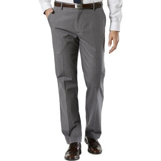 Dockers Mens Dress Pants Striped Straight Fit
