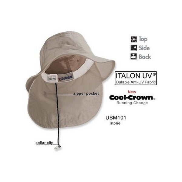 18c54c51e43 Shop Adams Extreme Vacationer Bucket Cap (Stone) (XL) - Free Shipping On  Orders Over  45 - Overstock.com - 21706090