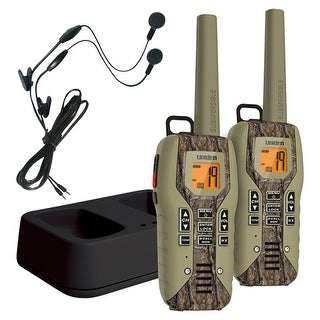 Uniden GMR5088-2CKHS 50 Mile FRS/GMRS Submersible Two-Way Radio w/Direct Call - Camo - 2-pack