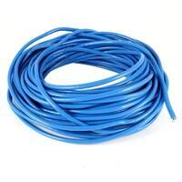 75Ft 23M CAT5E UTP Ethernet Solid Unshielded Bulk LAN Network Cable Cord Blue