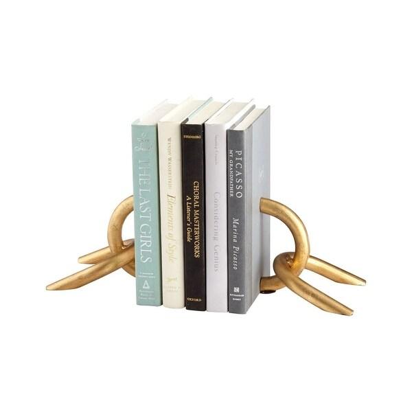 Cyan Design Goldie Locks Bookends 5 Inch Tall Goldie Locks Bookends - Gold - N/A