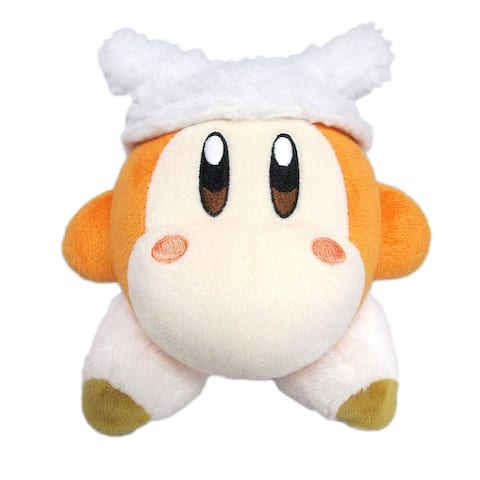 """Kirby's Adventure All Star 6"""" Plush Collection: Waddle Dee Sheep - multi"""