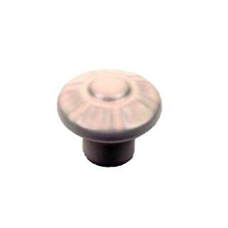 Century 51017 Alps 1-3/8 Inch Diameter Mushroom Cabinet Knob