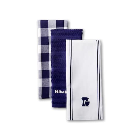 "KitchenAid Mixer Kitchen Towel Set, Set of 3 - 18""x28"""