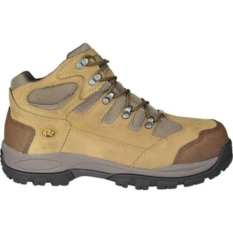 "Roadmate Boot Co. Men's Solum 5"" Waterproof Hiker Earth Grey Nubuck"