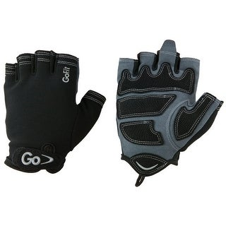GoFit XTrainer Fitness Gloves - Gray/Black