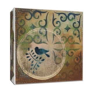 "PTM Images 9-153171  PTM Canvas Collection 12"" x 12"" - ""Bird Stencil"" Giclee Abstract Art Print on Canvas"