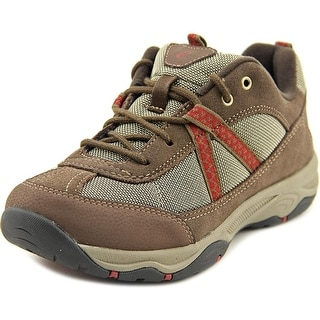 Easy Spirit Porting Women Round Toe Suede Brown Walking Shoe