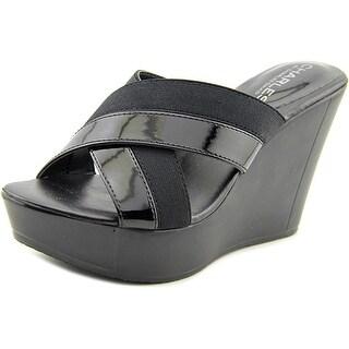 Charles By Charles David Fernando Women Open Toe Synthetic Wedge Sandal