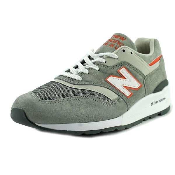 774c0f37b8704 Shop New Balance M997 Men Round Toe Suede Sneakers - Free Shipping ...