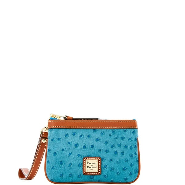 Dooney & Bourke Ostrich Medium Wristlet (Introduced by Dooney & Bourke at $68 in Feb 2016)