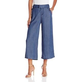 NYDJ NEW Blue Women's Size 6X22 Capris Cropped Denim Culotte Pants