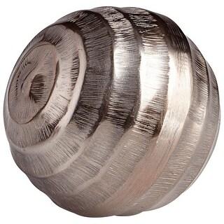 "Cyan Design 08928L  Destiny 5"" Diameter Aluminum Decorative Sphere - Bronze"