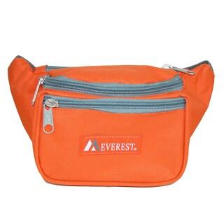 Everest Fabric Multi Pocket Waist Pack (Option: Orange - Fashion)