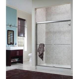 "Foremost CVSS5870-CL Cove 70"" High x 58"" Wide Sliding Framed Shower Door with 1/"