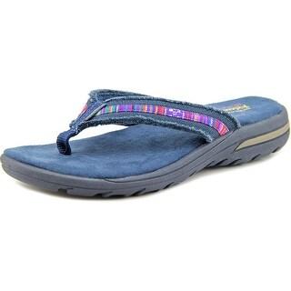 Skechers prefer Open Toe Canvas Flip Flop Sandal