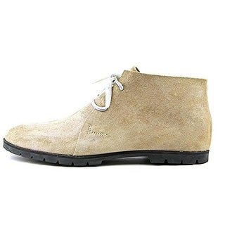 Woolrich Mens Lane Leather Casual Desert Boot