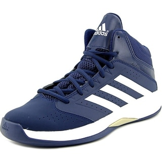 Adidas Isolation 2 K Youth Round Toe Leather Blue Basketball Shoe
