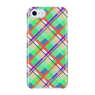 Vera Bradley Flexible Frame Case for iPhone 8, iPhone 7 & iPhone 6/6s - Rumba Grid Multi/Gold